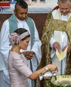 Crown Princess Victoria, June 8, 2014 in Philip Treacy | Royal Hats