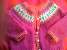 Pictures of my knitting projects I knitted for myself and others. Classic Outfits, Knitting Stitches, Knitting Projects, Little Girls, Sweaters, Kids, Baby, Inspiration, Clothes