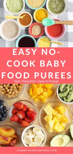 Baby Puree Recipes, Pureed Food Recipes, Banana Recipes, Baby Food Recipes, Natural Food Recipes, Baby Food Guide, Kid Recipes, Store Baby Food, Freezing Baby Food