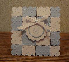 cute little quilt card