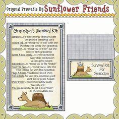 Grandpa's Survival Kit