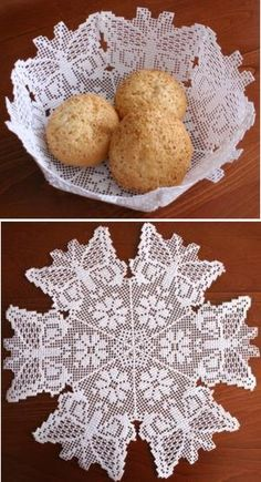 Advanced Embroidery Designs - FSL Crochet Butterfly Doily or Bowl.