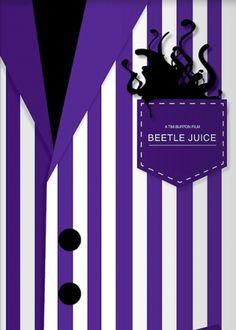 Beetle Juice by Jacek Rudzki Courtesy Alternative Movie Poster[content:shareblock]