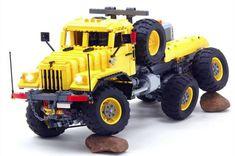 Lego KrAZ Truck Trial