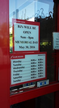 BJ'S Holiday Hours [ Opening & Closing Hours – Store Hours ]