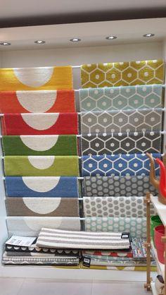 Brilliant display from Hus & Hem in Ledbury! Herefordshire, Swedish Design, Carpet Flooring, Floors, Hand Weaving, Sweet Home, Plastic, Homes, Interiors