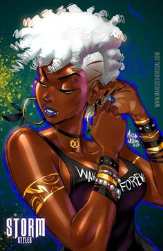 Sexy Black Art, Black Girl Art, Black Is Beautiful, Black Girl Magic, Art Girl, Black Girl Cartoon, Arte Cyberpunk, Black Comics, Black Art Pictures