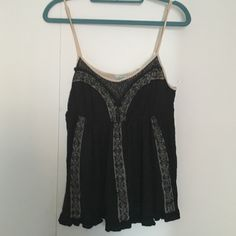 🎉HUMP DAY SALE🎉UO Lace Detailed Camisole UO lace detailed cami. Adjustable straps. Worn only a few times. No tears or stains.  🎉20% discount on all bundles🎉 ❌No trades❌ Urban Outfitters Tops Tank Tops