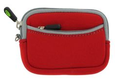 Neoprene Sleeve Camera Case for Panasonic Lumix DMC-FX DMC-FS Series Digital Camera + Screen Protector Shield - (Panasonic Lumix Camera NOT included) (Red) - http://allgoodies.net/neoprene-sleeve-camera-case-for-panasonic-lumix-dmc-fx-dmc-fs-series-digital-camera-screen-protector-shield-panasonic-lumix-camera-not-included-red/