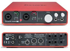 Focusrite Scarlett 6i6 USB2.0 Audio Interface