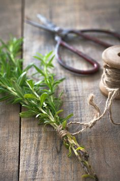 homemade dried herbs - I find this very relaxing