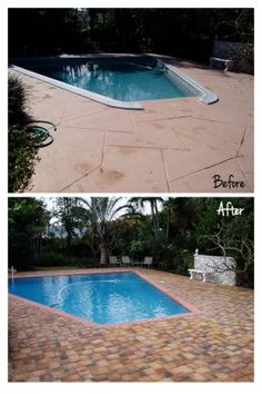 Decking and Coping Swimming Pool Remodel. We have a similar one going on right now in Falls Church. Above Ground Pool, In Ground Pools, Pool Remodel, Falls Church, Swimming Pool Designs, Decking, Around The Worlds, Gallery, Remodeling