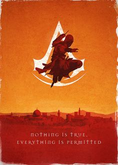 Assassin's Creed Poster  - Bernie Jezowski.