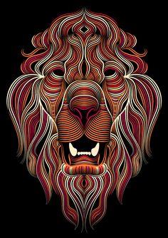 Adobe Illustrator CC 2014 • Lion on Behance