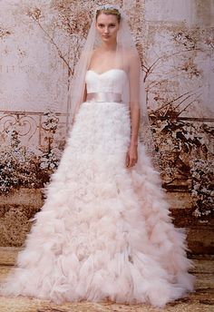 The Best Gowns from The Most In-Demand Wedding Dress Designers Part 7. http://www.modwedding.com/2014/02/18/the-best-gowns-from-the-most-in-demand-wedding-dress-designers-part-7/ #wedding #weddings #fashion