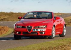 The Ten Best Italian Cars Ever Made - 6. Alfa Romeo Spider