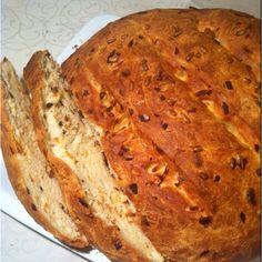 Луковый хлеб.