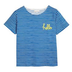 T-Shirts from Chinti & Parker Hello Goodbye, Breton Stripes, Ethical Shopping, Summer Wardrobe, Shop Now, Carbon Neutral, Factories, T Shirt, Cruelty Free