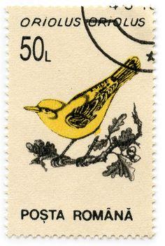 Postage stamp #bird