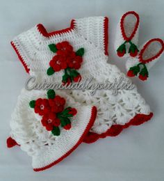 Crochet baby Dress, Baby clothes, Baby dresses, baby headband, baby shoes, Flower Dress, Baby girl clothes, Crochet baby Set, Baby shower by CutenCuddlyOutfits on Etsy