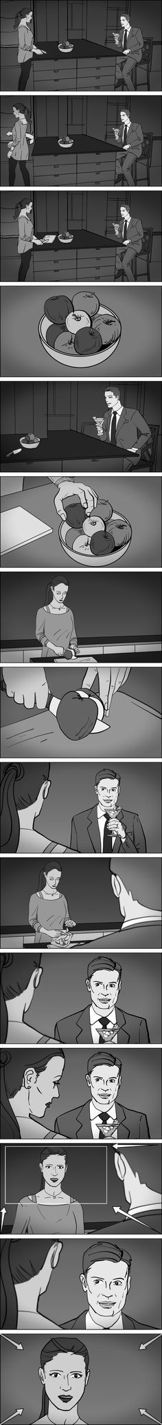 Got A Script? I'll Storyboard It. Storyboard sequence. Storyboards by storyboard artist Cuong Huynh.