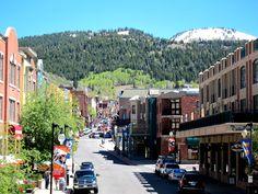 Downtown Park City Utah - September 8, 2012