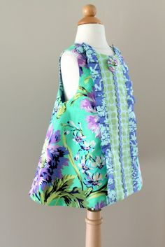 A few of these dresses would be cute for the summer, different colors for each girl;)