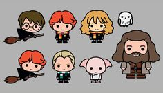 An exclusive first look at adorable new drawings of Harry Potter characters, coming soon to licensed products in Japan.