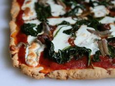 Gluten-Free Tuesday: Easy Pizza Crust | Serious Eats: Recipes - Mobile Beta!""