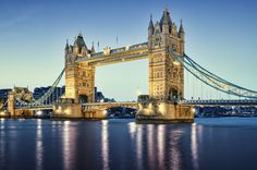 Tower Bridge, #London: a lovely marriage of form and function.