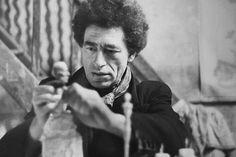 Alberto Giacometti par Henri Cartier-Bresson