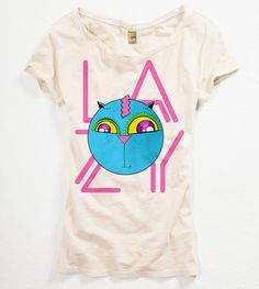 """""""Lazy"""" t-Shirt from the Shroom T-Shirts collection made by Igor Wnuk"""