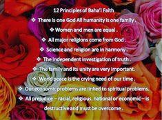 The Bahá'í Faith Principles  The Bahai Faith is uniting all religions, races ...