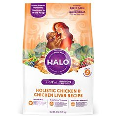 Halo Spot's Stew Natural Dry Dog Food, Adult Dog (4-pound) @@ You can check out the image by visiting the link. (This is an affiliate link and I receive a commission for the sales)