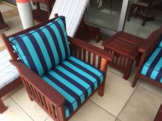 Teak, Toddler Bed, Armchair, Patio, Interior, Furniture, Home Decor, Child Bed, Sofa Chair