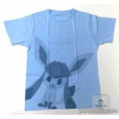 Pokemon Center 2015 Pokemon Time Campaign #8 Glaceon Tshirt (Free Size)