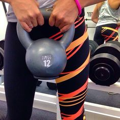 Recharging in our Charger 3/4 Tights!