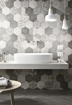 Tiles hexagon