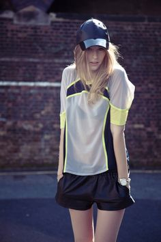 The perfect tennis outfit.