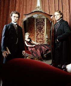 Hugh Dancy, Romola Garai and Hugh Bonneville in Daniel Deronda - BBC, 2002.