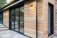 Eco Extensions, Sustainable Home Extensions - Eco Homes Building Extension, Rear Extension, Extension Ideas, Garden Room Extensions, House Extensions, Cotswold Cottage Interior, Cottage Extension, Wall Cladding, Back Doors