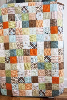 i love a good patchwork quilt!