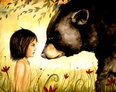 Claudia Tremblay Facing a bear