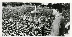 Bung Karno berpidato di Malang 20 Mei 1953.