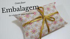 Aprenda a confeccionar uma linda embalagem a partir de rolinhos de papel. É simples e super fácil. Confere nosso tutorial...