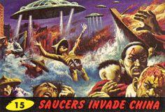 Mars Attacks Invasion | 15 Saucers Invade China