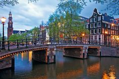 See Amsterdam Canals with Uniworld River Cruise