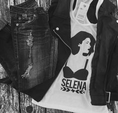 """The goal isn't to last forever, but to create something that is.""Selena - Slim Fit Tank available now on mystatelinedesigns.com"