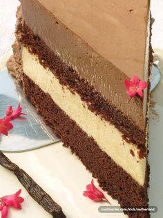 Od svih mojih tortica, ova će mi ostati u dugom sjećanju:) Jednostavni sastojci, a savrseni okus čokolade i vanilije u sočnom biskvitu.