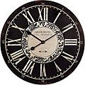 Analog Rustic Wall Clock - 17682633 - Overstock.com Shopping - Great Deals on Clocks